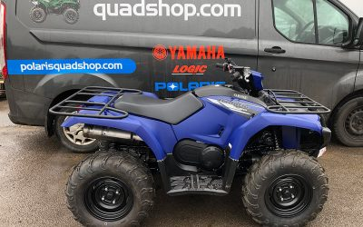 Yamaha Kodiak 450 – Blue