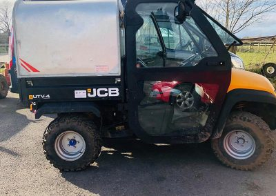 quadshop used vehicle - jcb groundhog 2010